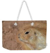 Sweet Face Of A Prairie Dog Up Close And Personal Weekender Tote Bag