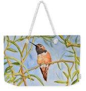 Sweet Hummingbird Weekender Tote Bag
