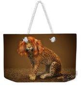 Sweet Lady Leopard Weekender Tote Bag