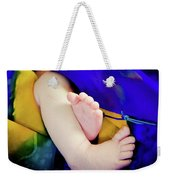 Sweet Little Baby Feet Weekender Tote Bag