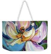 Sweet Magnoli Floral Abstract Weekender Tote Bag
