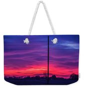 Sweet Nebraska Sunset 004 Weekender Tote Bag