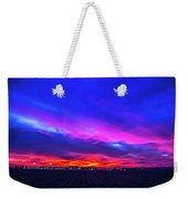 Sweet Nebraska Sunset 001 Weekender Tote Bag