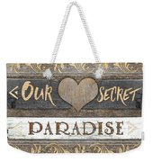 Sweet Paradise Series Weekender Tote Bag