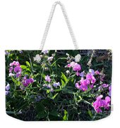 Sweet Pea In Tahoe Weekender Tote Bag