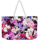Sweet Pea Spencer Flowers Weekender Tote Bag