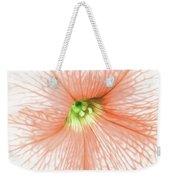 Sweet Peachy Petunia Weekender Tote Bag