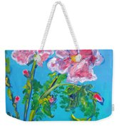 Sweet Pea Flowers On A Vine Weekender Tote Bag