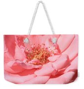 Sweet Pink Rose  Weekender Tote Bag