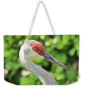 Sweet Sandhill Profile Weekender Tote Bag