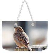 Sweet Sparrow Weekender Tote Bag