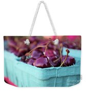 Sweet Summer Cherries Weekender Tote Bag