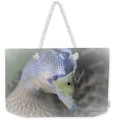 Sweetest Mallard Expression Weekender Tote Bag