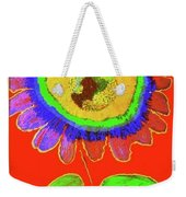 A Fanciful Flower Weekender Tote Bag