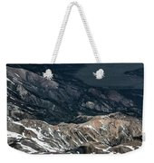 Sweetwater Mountains On California Nevada Border Aerial Photo Weekender Tote Bag