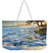 Swept Out To Sea Weekender Tote Bag by Mike  Dawson
