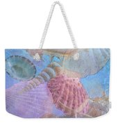Swept Out With The Tide Weekender Tote Bag by Betty LaRue