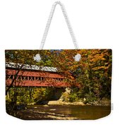 Swift River Covered Bridge In Conway New Hampshire Weekender Tote Bag