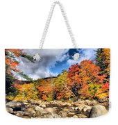 Swift River New Hampshire Weekender Tote Bag