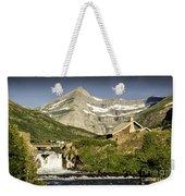 Swiftcurrent Falls Glacier Park 1 Weekender Tote Bag