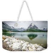 Swiftcurrent Lake Weekender Tote Bag
