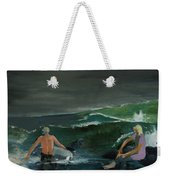 Swim At Your Own Risk Weekender Tote Bag