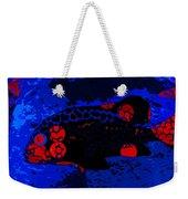 Swimming In Blue Coral Weekender Tote Bag