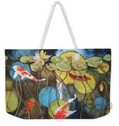 Swimming In Circles Weekender Tote Bag