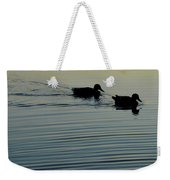 Swimming Into Ripples Two  Weekender Tote Bag