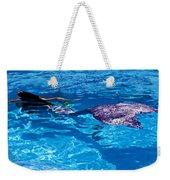 Swimming Mermaid Weekender Tote Bag