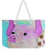 Swimming Piggy Weekender Tote Bag