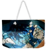 Swimming Pool Mural 2 Weekender Tote Bag