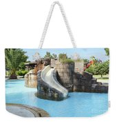 Swimming Pool With Slide For Children Weekender Tote Bag