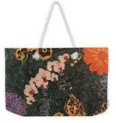 Swimming Through Flowers Weekender Tote Bag