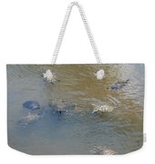 Swimming Turtles Weekender Tote Bag