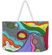 Swimming Upstream Weekender Tote Bag