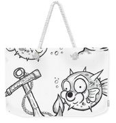Swimming With The Fishes  Weekender Tote Bag