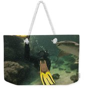 Swimming With The Sharks Weekender Tote Bag