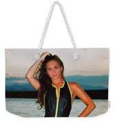 Swimsuit Girl Ad Weekender Tote Bag