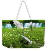 Swing In The Daisies With Bridge Weekender Tote Bag