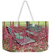 Swing Set Weekender Tote Bag