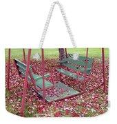 Swing Set Weekender Tote Bag