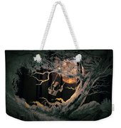 Swinging Through The Forest By Moonlight Weekender Tote Bag