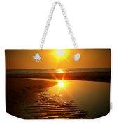 Swirl Me A Sunrise Weekender Tote Bag