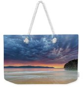Swirling Cloudy Sunrise Seascape Weekender Tote Bag
