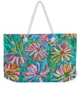 Swirling Color Weekender Tote Bag