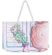 Curtain- Swirling  Weekender Tote Bag