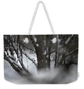 Swirling Into Winter Weekender Tote Bag