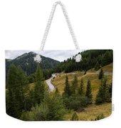 Swirling Mountain Road Weekender Tote Bag