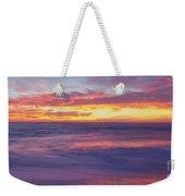 Swirling Ocean And Sky Weekender Tote Bag